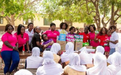 Young African Women's Summit (YAWS) Spends The International Women's Day Educating Female JHS Students In Tema