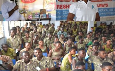 Lexta Ghana undertakes campaign to sensitise students on Cervical Cancer