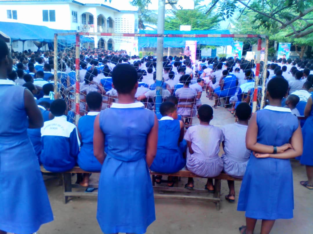 Lexta Ghana Limited Visits Mawuko girls SHS, Ho | Lexta ...